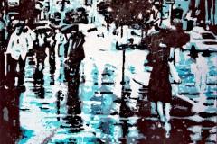 Pioggia turchese