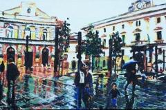 Potenza - Primavera in Piazza Mario Pagano