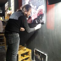 Live Painting  – The FEEdbACKERS