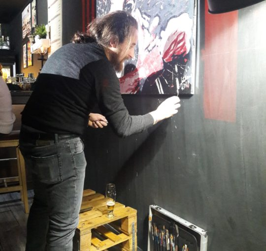 Live Painting  - The FEEdbACKERS